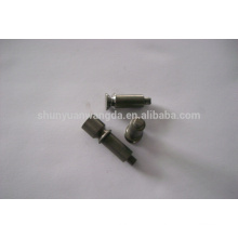 Tungsten knock-off punch die for turret punch
