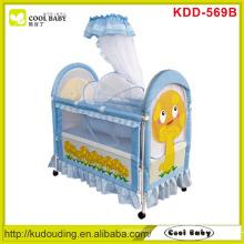 Mushroom printing NEW Baby Crib , Inner cradle with mosquito net