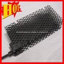 Traitement de l'eau Platine Titanium Anode, électrode de titane