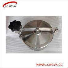 Raccords sanitaires en tuyaux en acier inoxydable Manque de réservoir circulaire sans pression