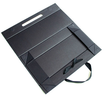 Flap Board Folding Paper Box Com Fita