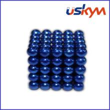 Boules magnétiques Buckyballs de revêtement Bule (T-012)
