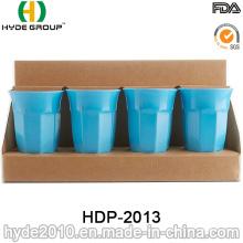 Taza de fibra de bambú plástica reutilizable ecológica (HDP-2013)