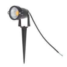 IP65 Outdoor Garden LED AC220V 110V DC/AC 12V 5W COB Lawn Pond Path Landscape 7w led spike light
