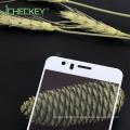 Protector de pantalla de seda-impresión de vidrio templado de cubierta completa 2.5D para Huawei honor8