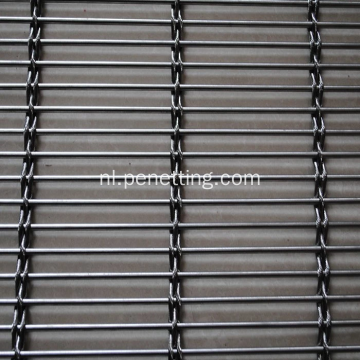 Metal Flat Spiral Wire Fabric Gevels Divider