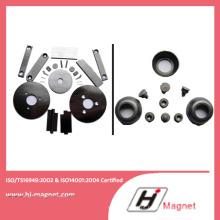 Strong personalizado N52 íman em forma de anel com alta qualidade, processo de fabricação
