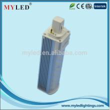 Factory Promiton longue durée de vie 820 lumen 8w g23 led pl remplacement de la lampe cfl