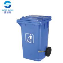 Kunststoff Mülleimer für 100L / 120L / 240L mit Fußpedal Seitenrad