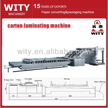 Machine à stratifier à carton ondulé automatique