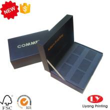 Caja de regalo de embalaje de cartón cosmético con logo