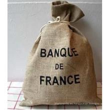 Jute Bag Natural Arpillera