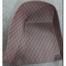 Simili cuir voiture 3D Mat avec diamant broderie