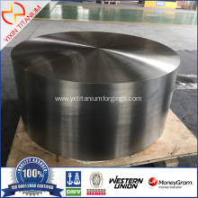 Titanium forged block