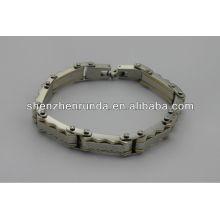 Venta al por mayor barata, pulsera 2014 de la energía del acero inoxidable de la manera, bracelet.china de los hombres fabricante