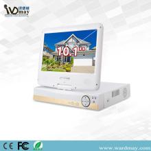 """Rede de 4chs 1080P AHD DVR com 10 """"tela"""