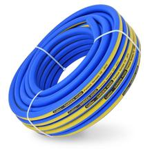 Tuyau d'arrosage flexible en PVC et caoutchouc