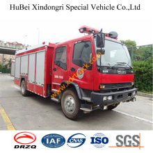 6ton China Fabricación Nuevo Rescate Isuzu camión de bomberos Euro4