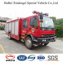 6ton China Manufacture New Rescue Isuzu Fire Engine Truck Euro4