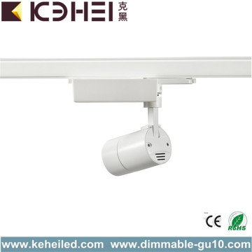 7W Low Power Led Track Lights Reines Weiß