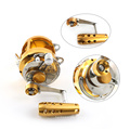 FSTR050 New production 2 speed all metal material big game trolling reel