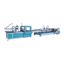 Automatic corrugated cardboard folder gluer  carton box making machinery