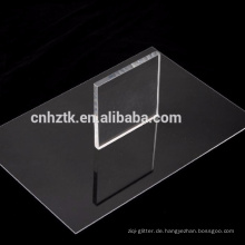 gegossene Acrylplatte