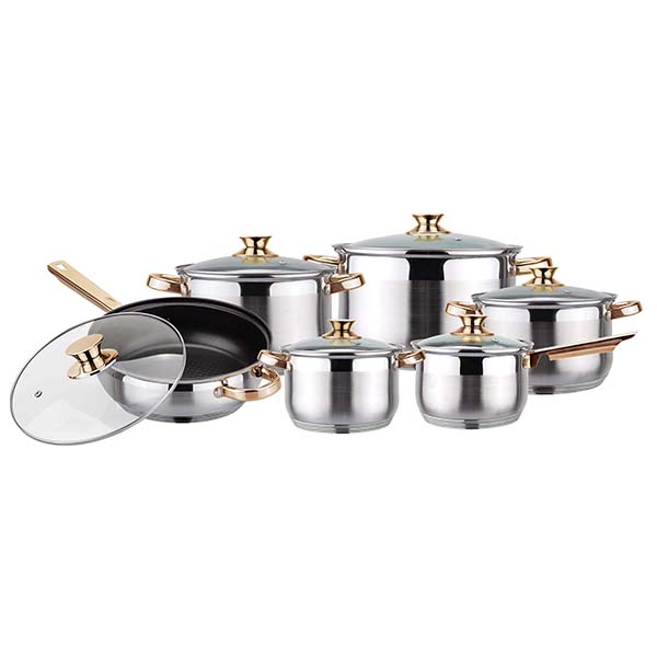 Cheapest 18K kitchenware set
