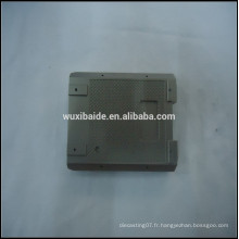 Custom CNC usinage boîtier en titane / composants, pièces en titane cnc usinage service Fabricant