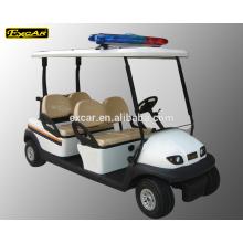 Carro bonde do golfe do carro do clube do carro de golfe do seater Trojan da bateria 4 para a venda
