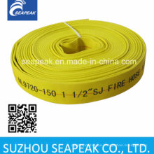 Fire Hose with Yellow Color