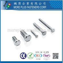 Hecho en Taiwán Perno de la cabeza del hexágono del acero de carbón de la alta calidad DIN933