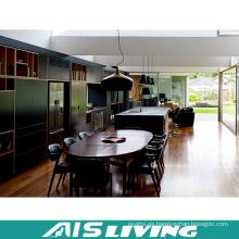 Armario de cocina de melamina de muebles de alta calidad (AIS-K403)