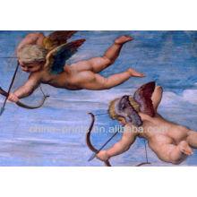 Berühmte Malerei Engel Ölgemälde für Wohnkultur