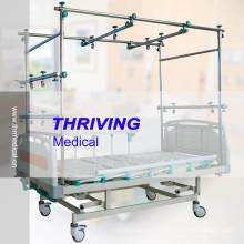 Lit de traction orthopédique de haute qualité à quatre manivelles (THR-TB003)
