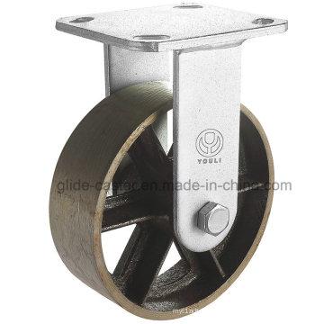 Rodízio de ferro fundido resistente (y4501)