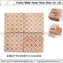 Eco-Friendly Various Design Wooden Coaster or Table Mat