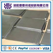 China Hersteller Heißer Verkauf Bester Preis Hohe Reinheit 99,95% Molybdän Platten / Blätter Tungten Platten / Blätter für Saphirglas Wachstum