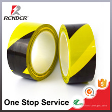 China Manufacturer Applicator Cable Advertência Adhesive Tape PVC Pipe Wrapping Floor Marking Tape