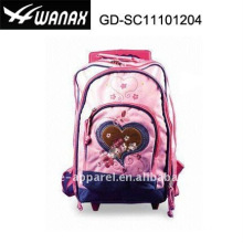 Cetim Beleza Criança Trolley Student backpack