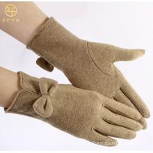 Ladies Winter Fashion handmade Wholesale Wool Gloves