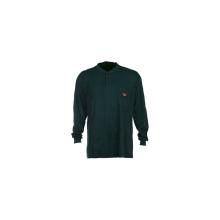 100% algodón resistente a la llama Henley camiseta