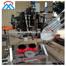 automatic 3 axis toilet brush making machine