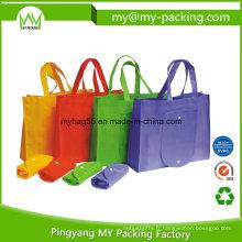 Recyclage des sacs pliables non-tissés de poche d'Eco PP Promotion