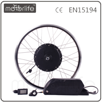 MOTORLIFE/OEM brand 2015 HOT SALE CE pass 48V 1000w electric bike kit,battery 48v 17.5ah max