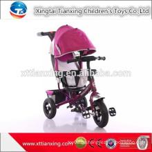 China Hersteller Direktverkauf Air Tire Baby Kinderwagen 3 In 1 / Günstige Baby Dreirad