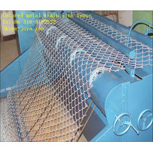 Colored Metal Chain Link Fence