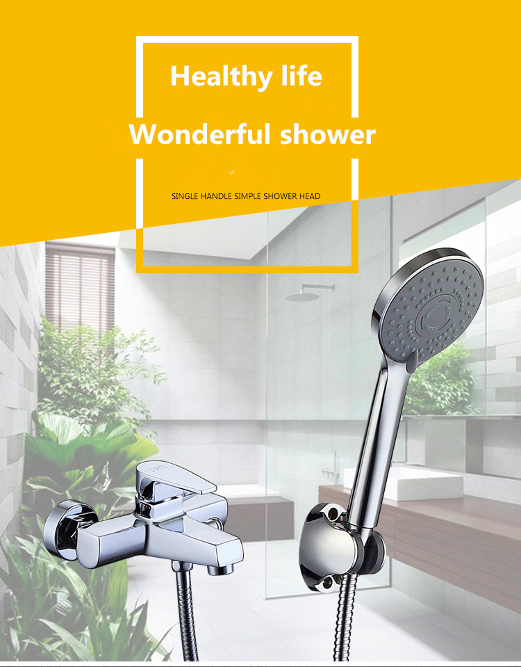 tub Shower Mixer Faucet with Hand Shower