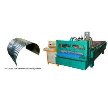 QJ automatische Dachbiegewalze, die Maschine bildet