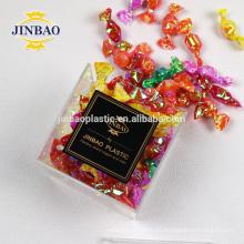 Jinbao clear Plexiglass Sweet Box Wholesale Pequeña caja de acrílico del caramelo